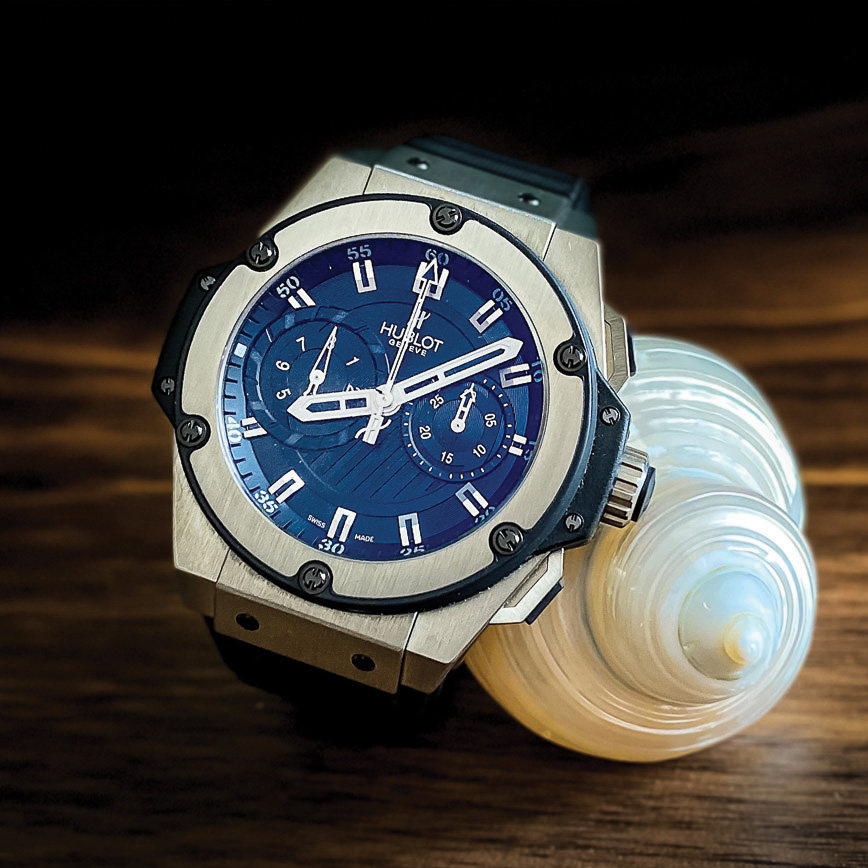 Montre de luxe homme Hublot King Power Zirconium d'occasion bastia paris
