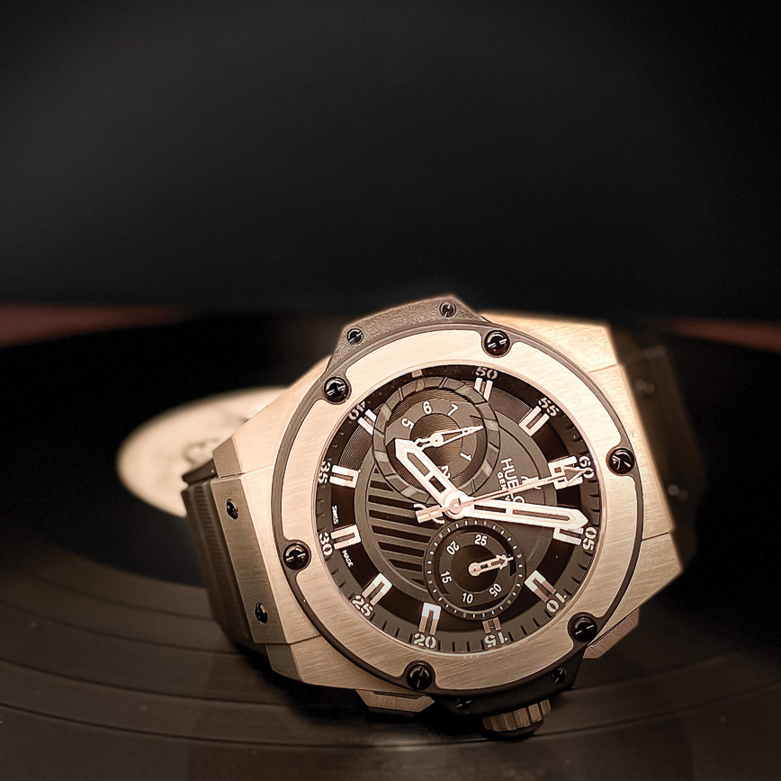 Hublot King Power Zirconium corse paris