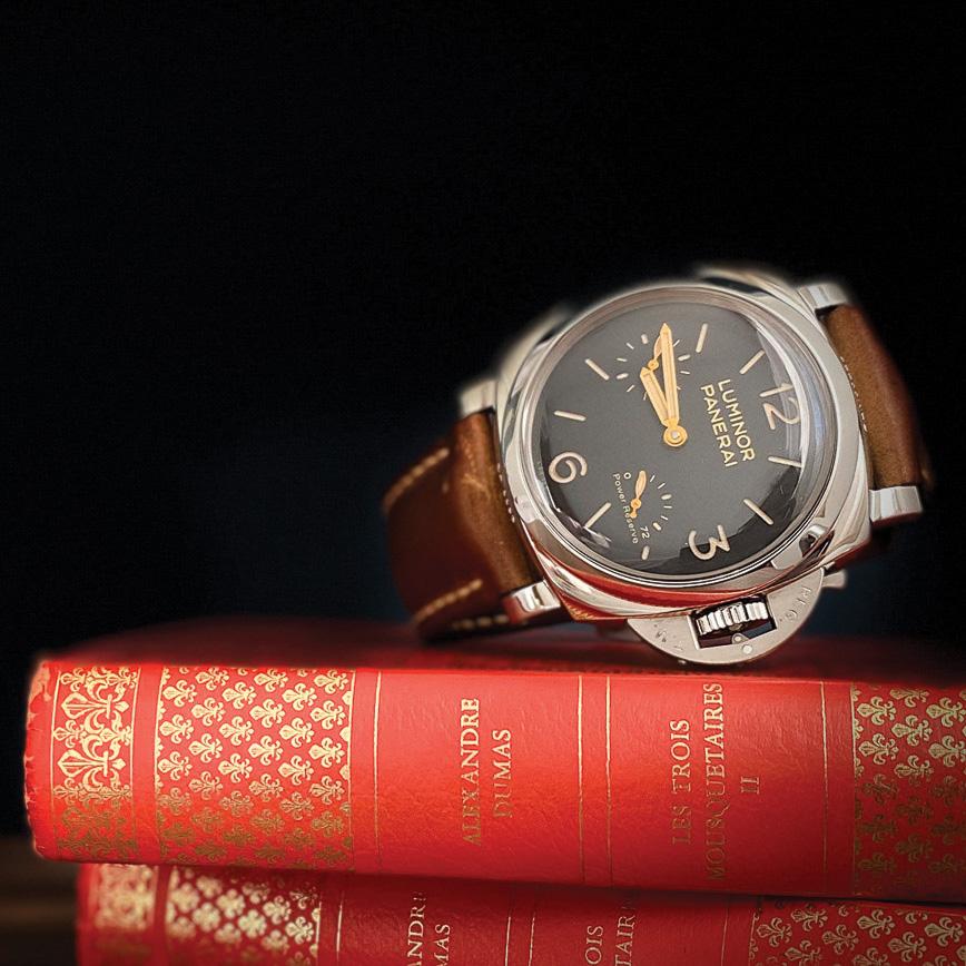 Montre de luxe homme panerai luminor 1950 PAM 423 cadran noir d'occasion bastia, paris