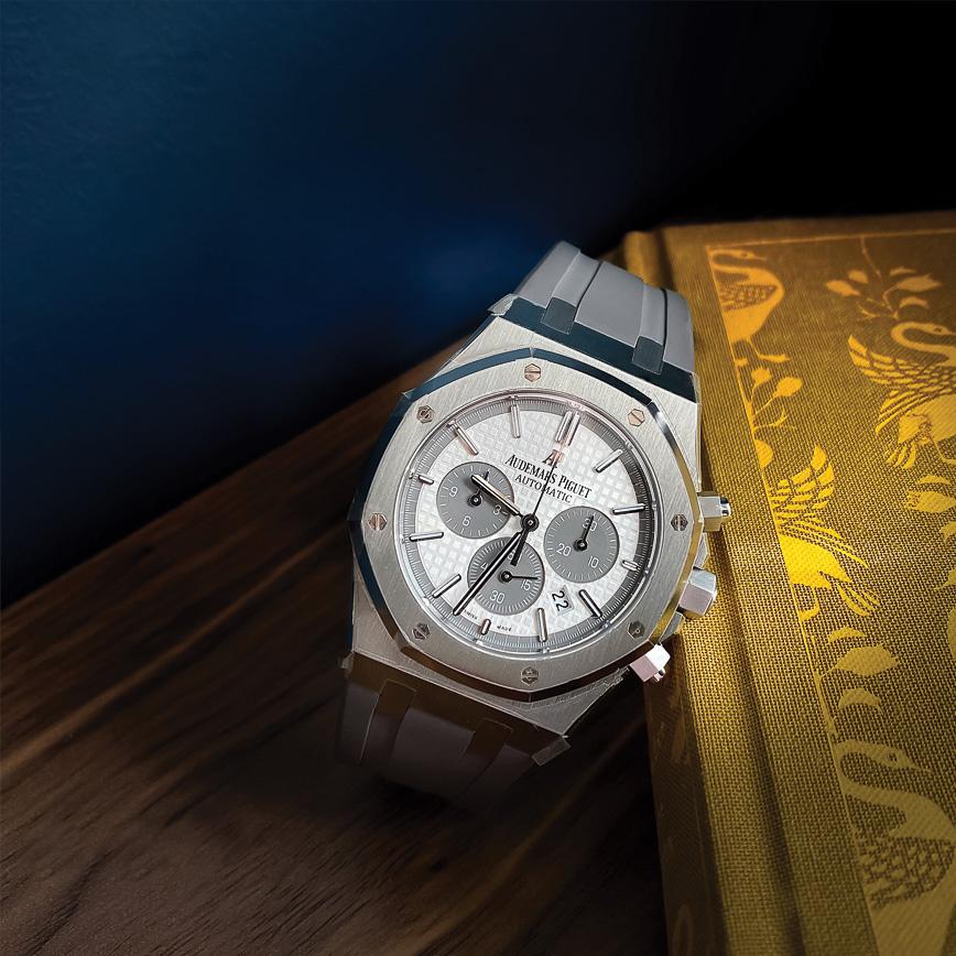 Montre homme de luxe édition limitée Audemars Piguet Royal Oak Offshore Chronograph (QEII) Queen Elizabeth II Cup d'occasion bastia paris