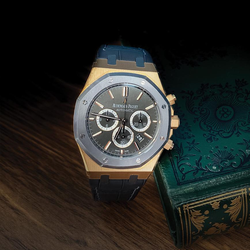 Montre homme de luxe Audemars Piguet Royal Oak Chronograph Leo Messi édition limitée bastia paris