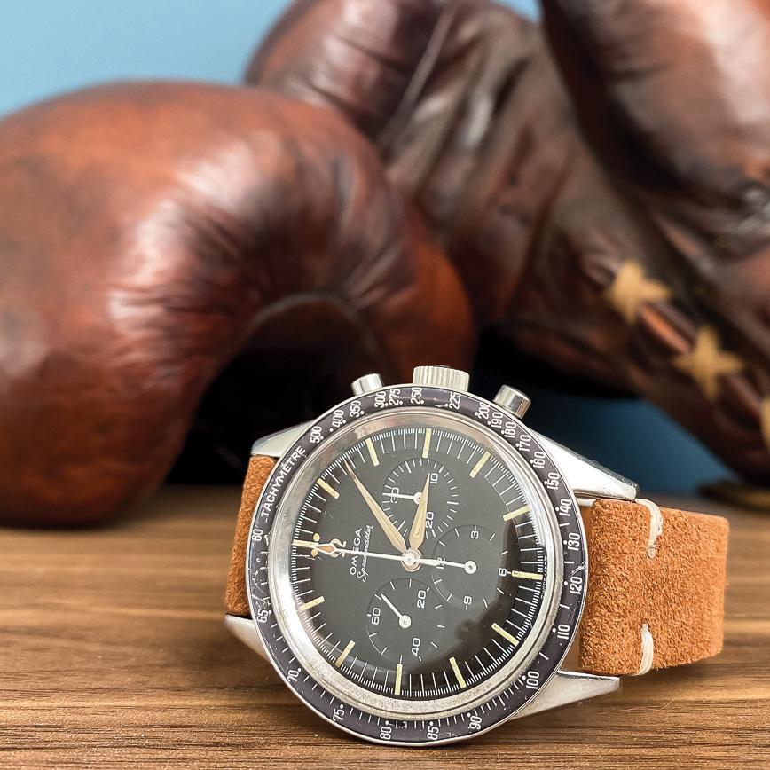 Montre homme de luxe Omega Speedmaster vintage 1961 bastia paris