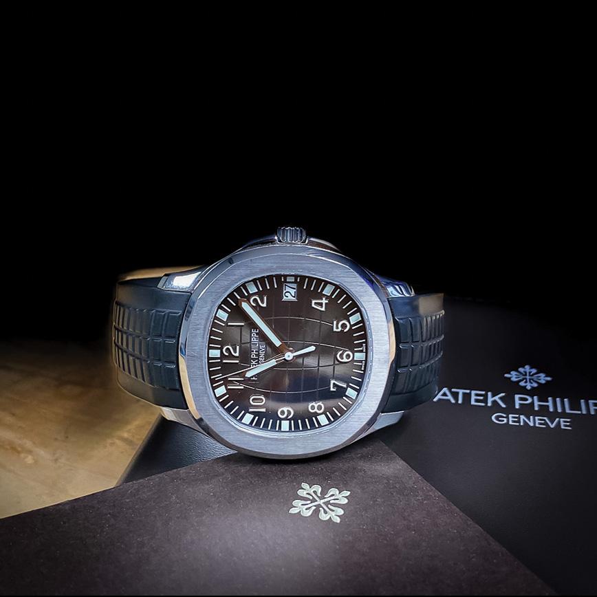 Montre homme de luxe Patek Philippe Aquanaut acier 5167-1A d'occasion bastia paris