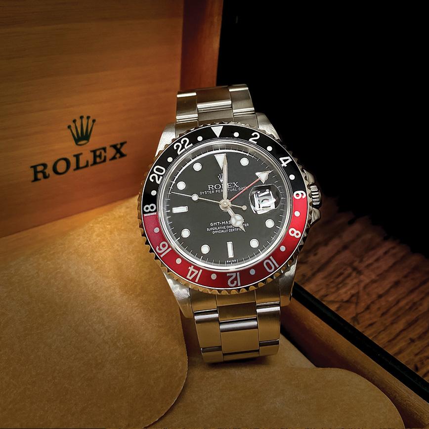 Montre homme de luxe Rolex GMT Master 2 Coca d'occasion corse paris