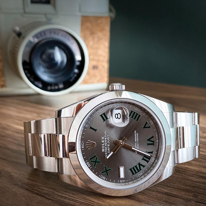 Rolex Datejust 2 Wimbledon bracelet Oyster paiement, bastia, paris