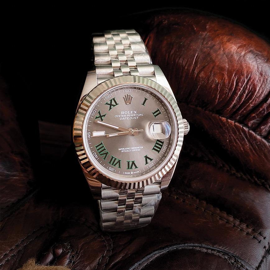 Rolex Datejust 2 Wimbledon bracelet jubilé corse paris