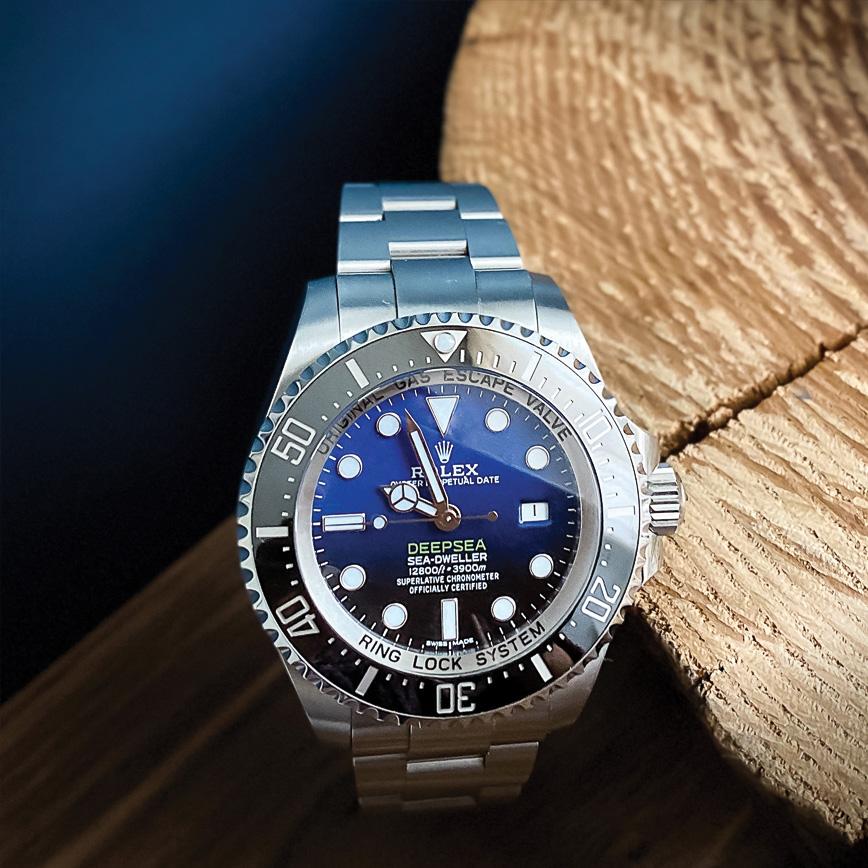 Rolex Deepsea blue corse paris