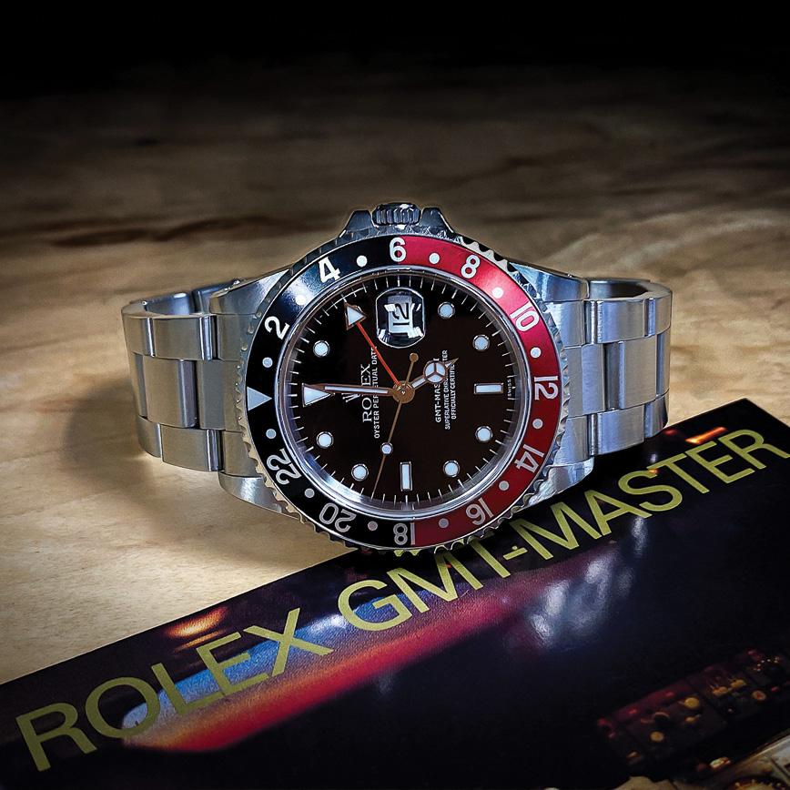 Rolex GMT Master 2 coca, bastia, paris