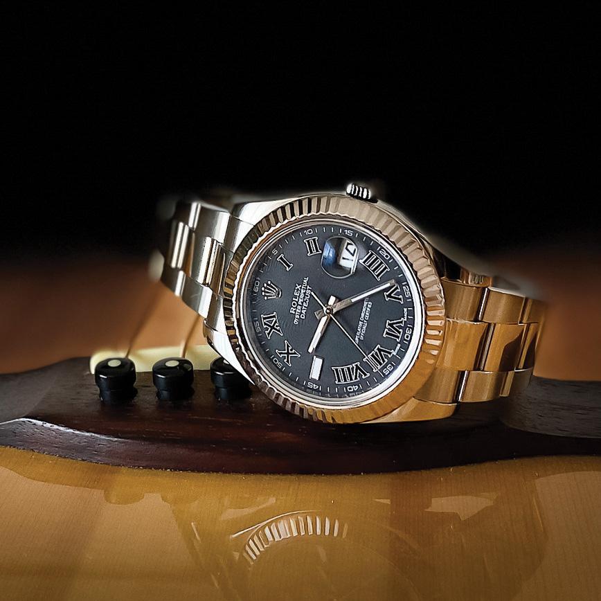 Rolex datejust 2 black roman pas cher