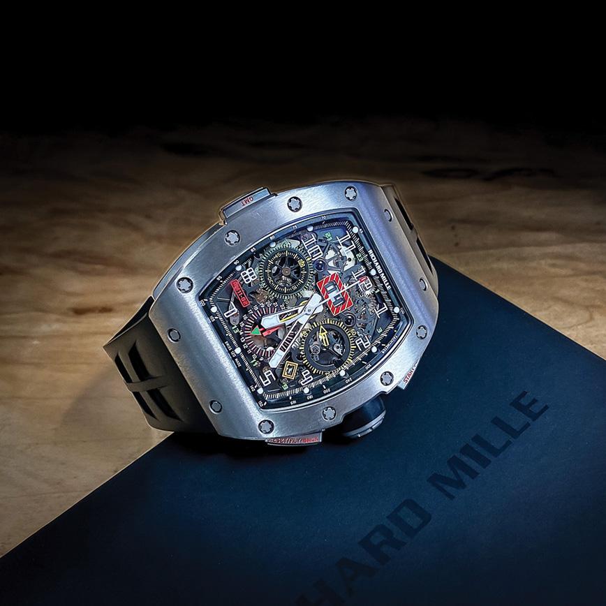 Richard Mille RM11 02 GMT titane
