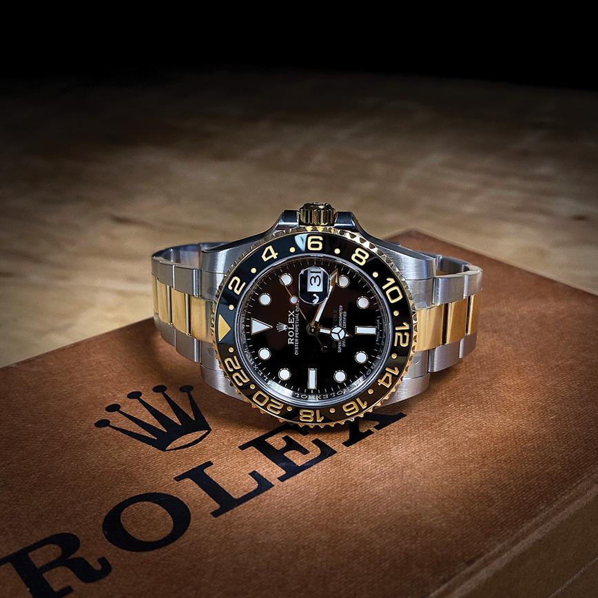 Montre homme de luxe Rolex GMT Master 2 or et acier - Corse, Paris