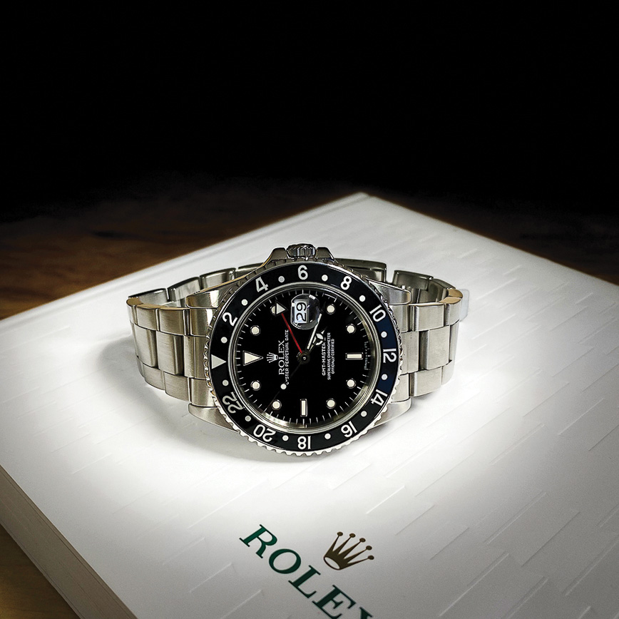 Montre homme Rolex GMT Master 2 cadran noir - Corse, Paris