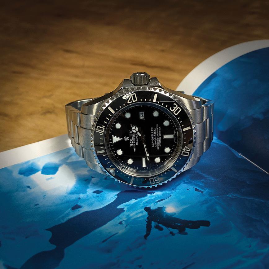 Montre homme Rolex Deepsea Sea-Dweller cadran noir - Corse, Paris