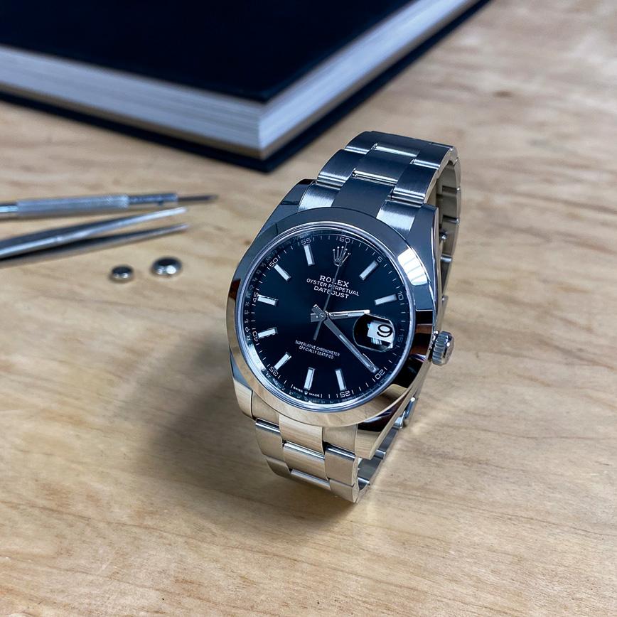 Montre homme de luxe Rolex Datejust 2 cadran noir - Corse, Paris
