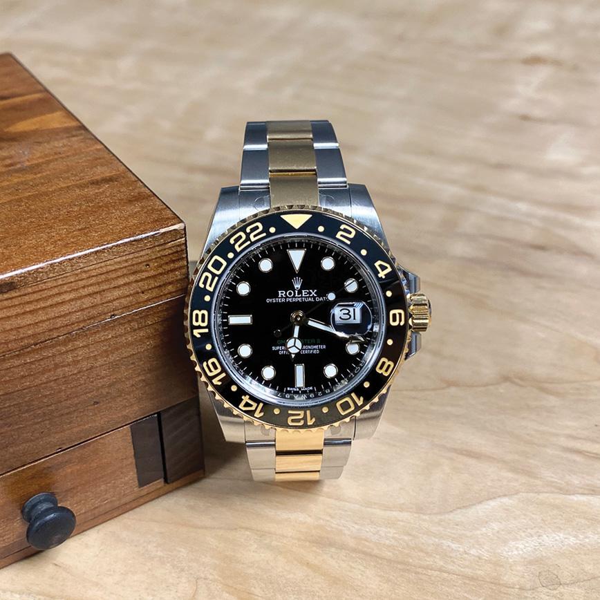 Montre Rolex GMT Master 2 or et acier - Bastia, Paris
