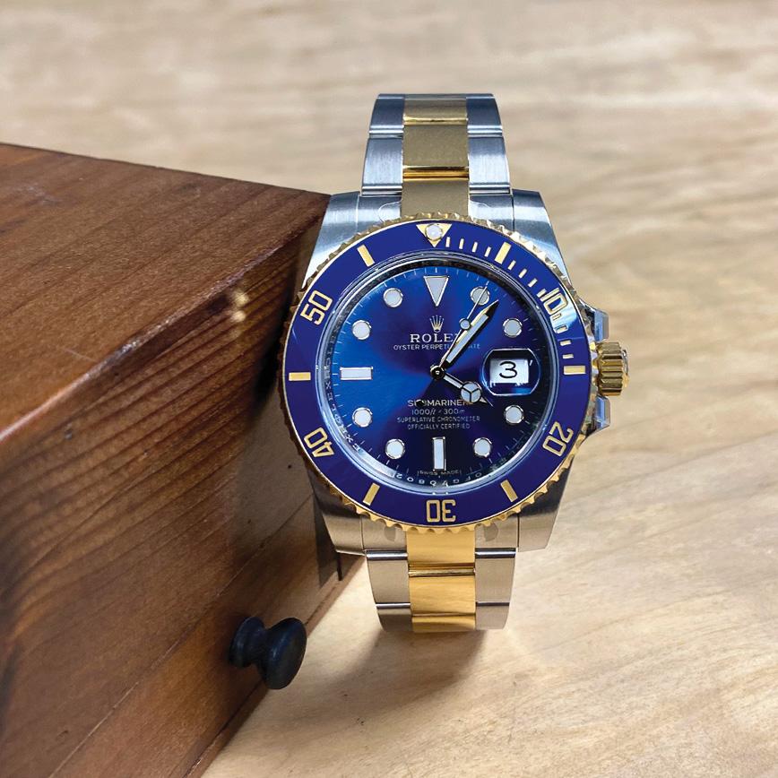 Rolex Submariner Date or jaune/acier, cadran bleu - Corse, Paris