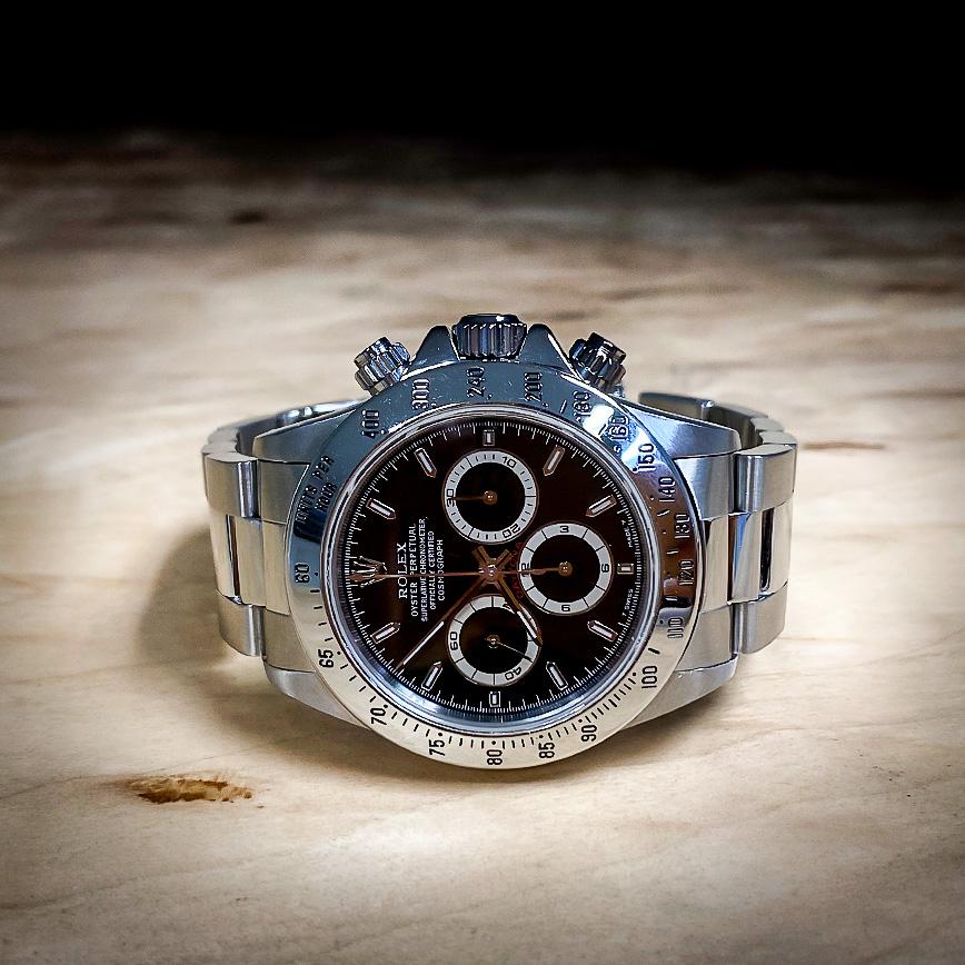 Montre homme de luxe Rolex Daytona Zenith série T cadran noir - Corse, Paris