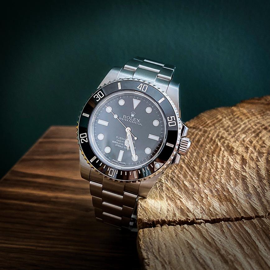 Montre homme de luxe Rolex Submariner cadran noir - Corse, Paris