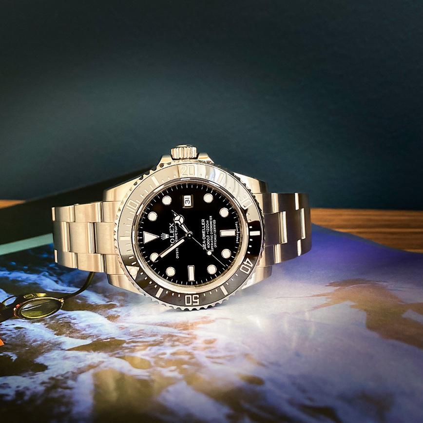 Rolex Sea-Dweller 4000 - Bastia, Paris
