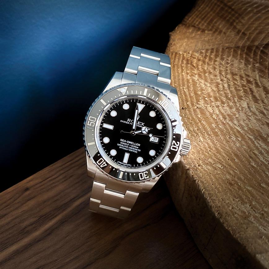 Montre homme de luxe Rolex Sea-Dweller 4000 - Corse, Paris