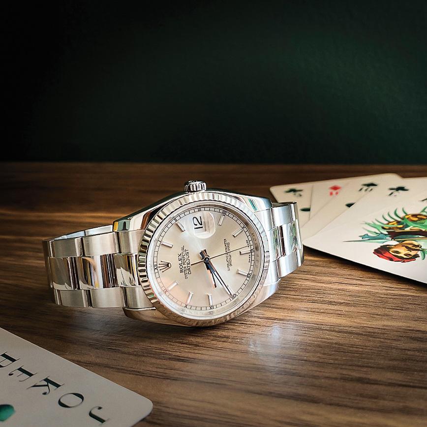 Rolex Datejust 36mm cadran gris - Bastia, Paris