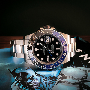 Rolex GMT Master 2 Batman Oyster d'occasion