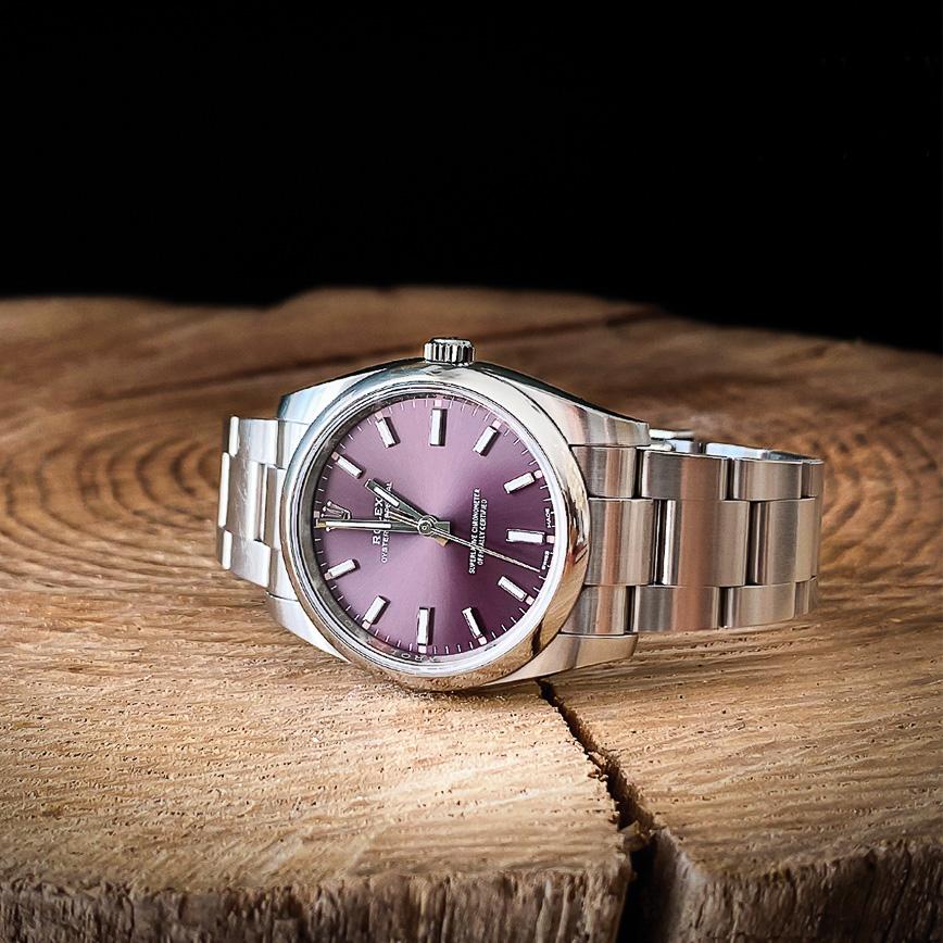 Rolex Oyster Perpetual 36mm cadran violet - Bastia, Paris