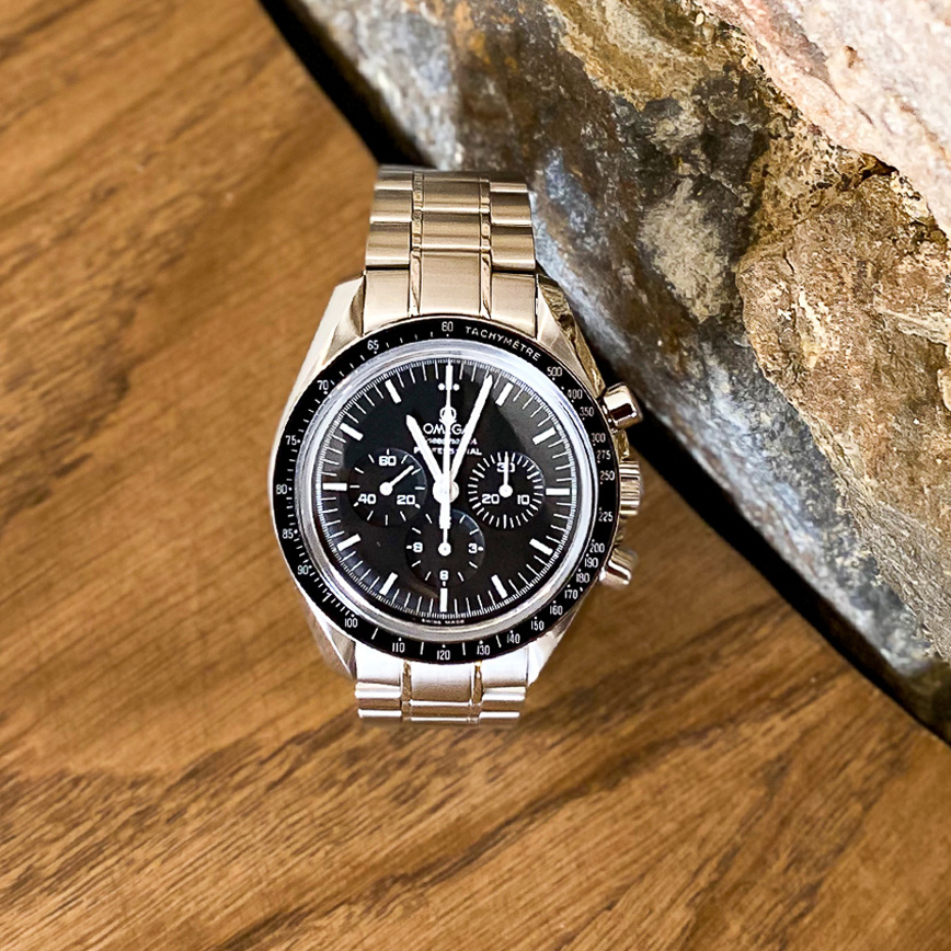 Montre homme de luxe Omega Speedmaster automatique 45mm - Corse, Paris