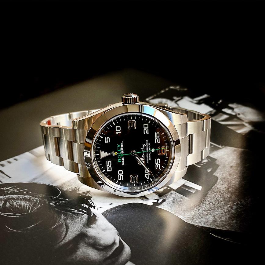 Montre homme Rolex Air King ref.116900 - Corse, Paris