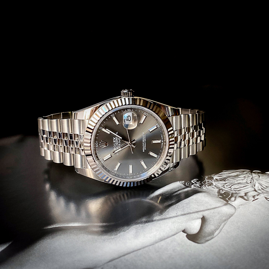 Montre homme Rolex Datejust 2 cadran rhodium et bracelet jubilé ref.126334 - Corse, Paris