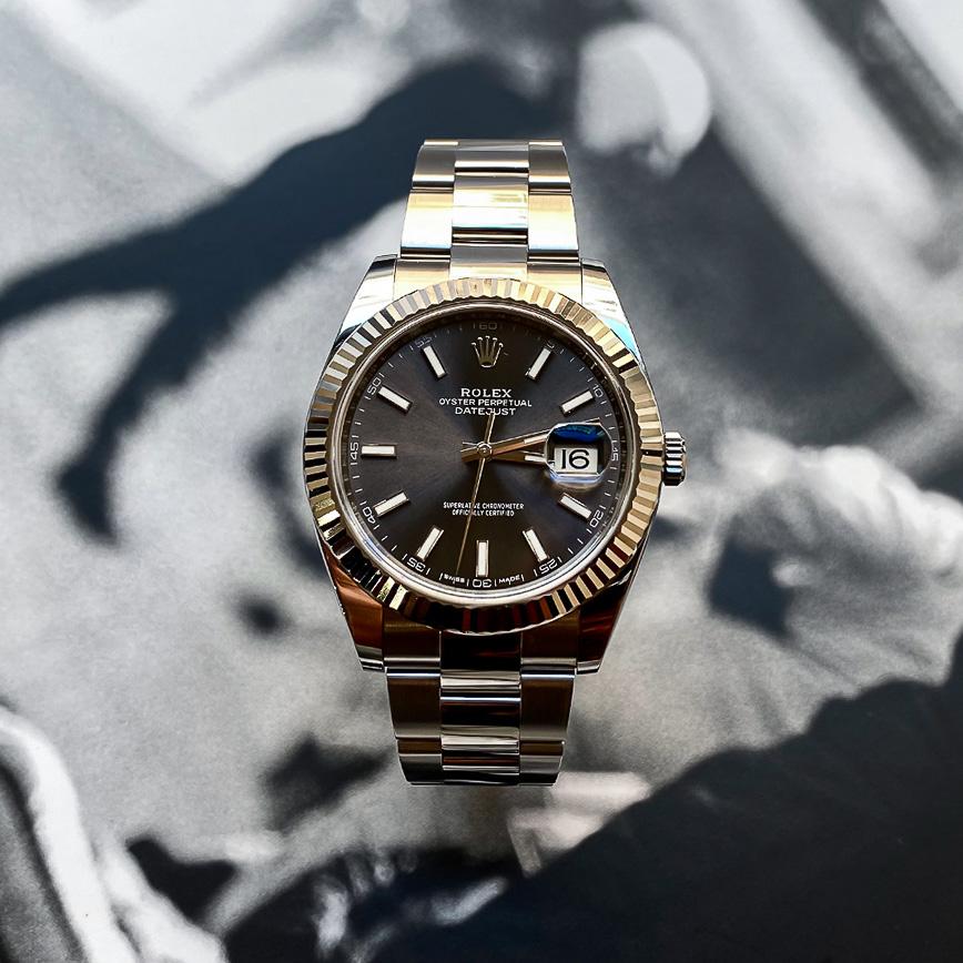 Montre homme Rolex Datejust 2 cadran rhodium ref.126300 - Corse, Paris