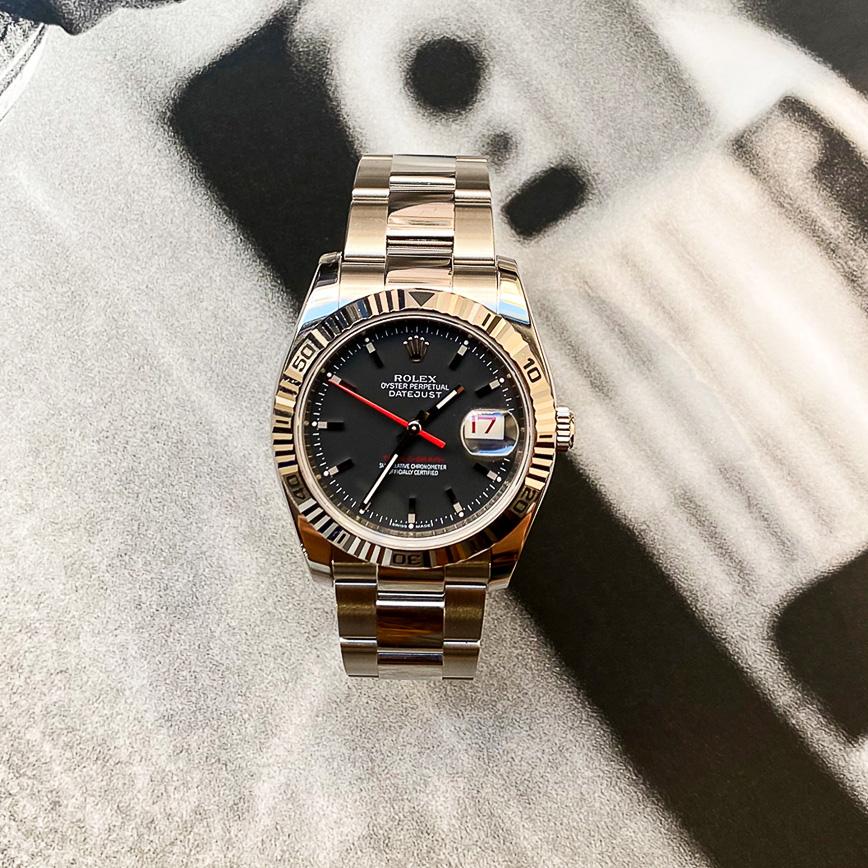 Montre homme Rolex Datejust Turn-O-Graph ref.116264 - Corse, Paris
