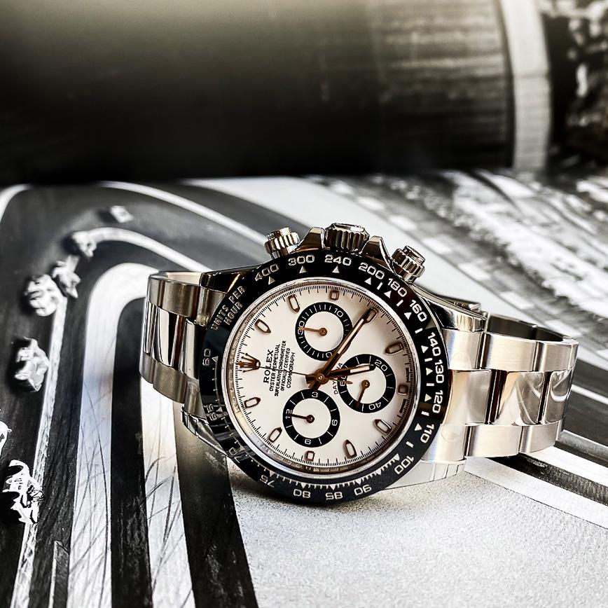 Montre homme Rolex Daytona cadran blanc ref.116500LN - Corse, Paris