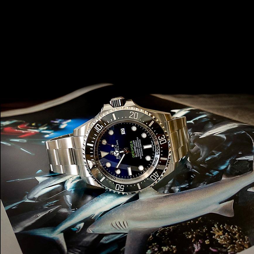 Montre homme Rolex Deepsea D-blue ref.116660 - Corse, Paris