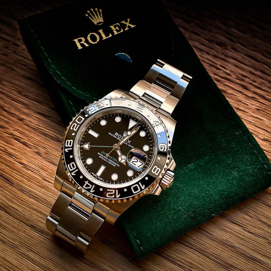 Montre homme Rolex GMT Master 2 ref.116710LN - Corse, Paris