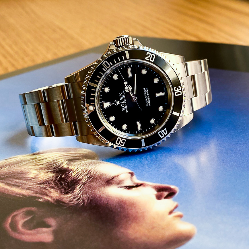 Montre homme Rolex Submariner No Date ref.114060 - Corse, Paris