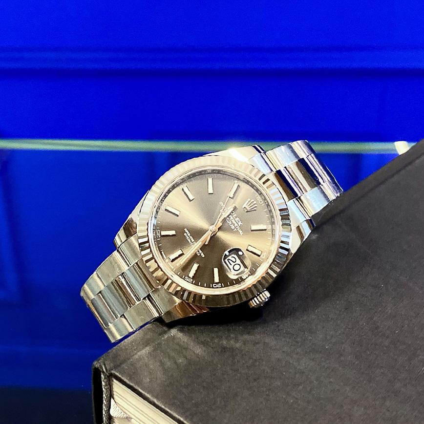 Montre homme de luxe Rolex Datejust 2 41mm cadran rhodium et bracelet Oyster - Corse, Paris