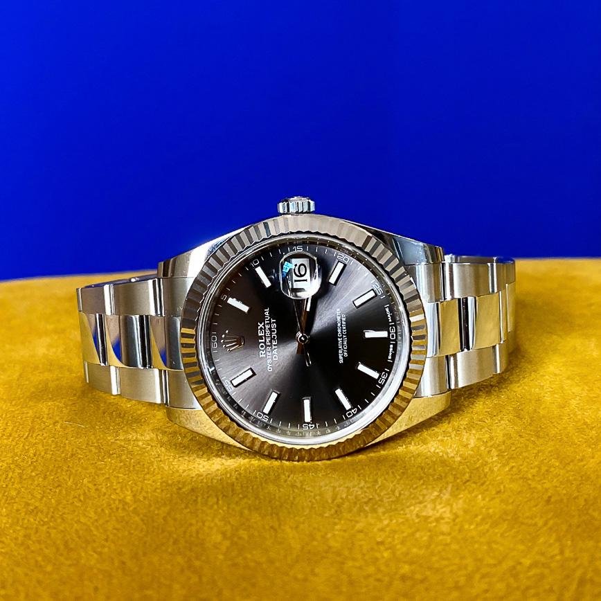 Rolex Datejust 2 cadran rhodium ref.126300 - Corse, Paris