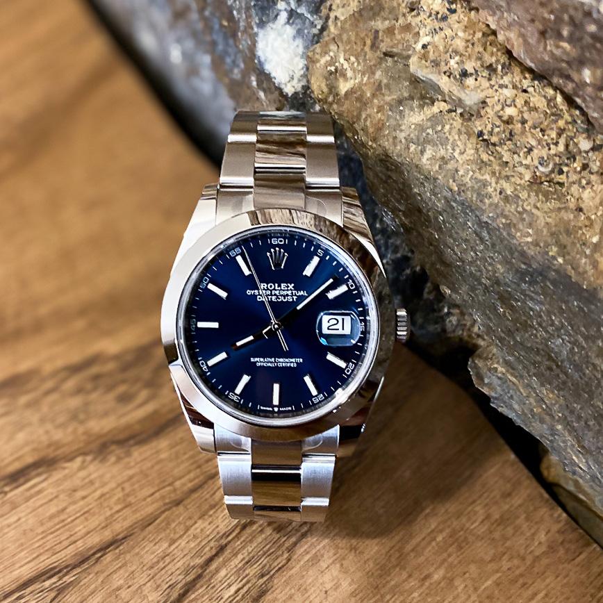 Rolex Datejust II cadran bleu ref.126300 - Bastia, Paris