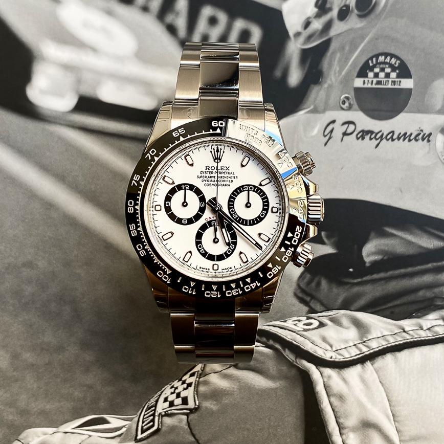 Rolex Daytona cadran blanc ref.116500LN - Bastia, Paris