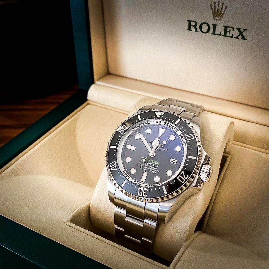Rolex Deepsea D-blue ref.116660 - Bastia, Paris
