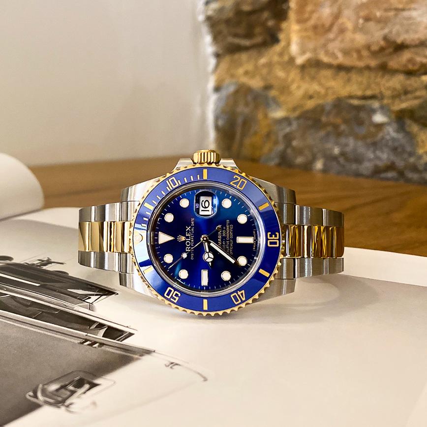 Rolex Submariner Date or et acier ref.116613LB - Bastia, Paris