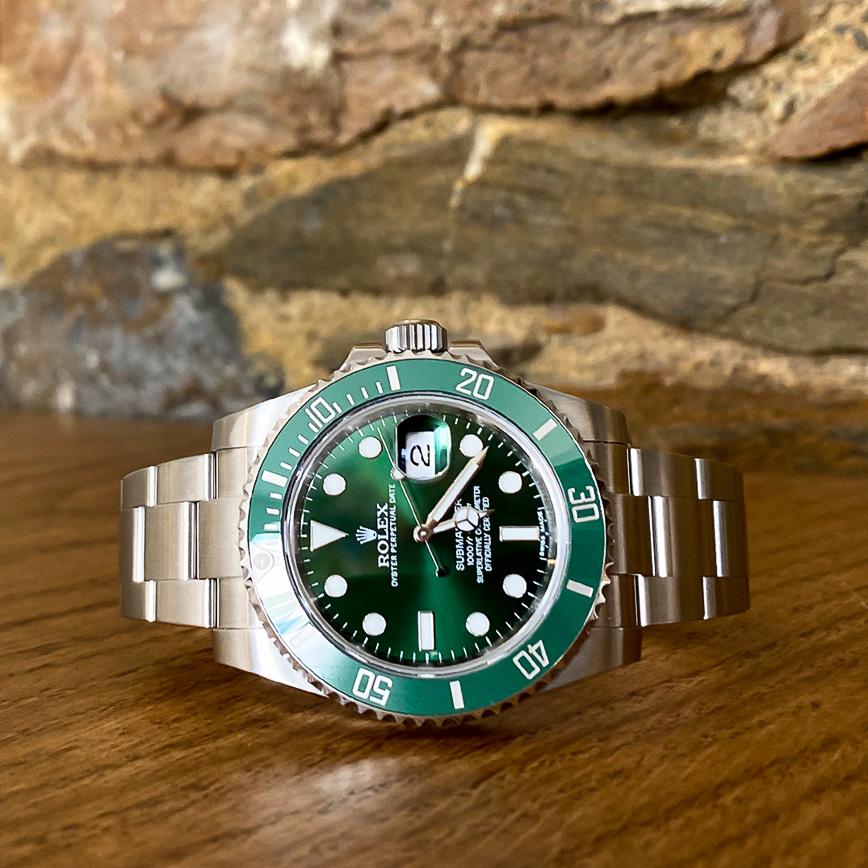 Rolex Submariner Date ref 116610LV Hulk - Bastia, Paris
