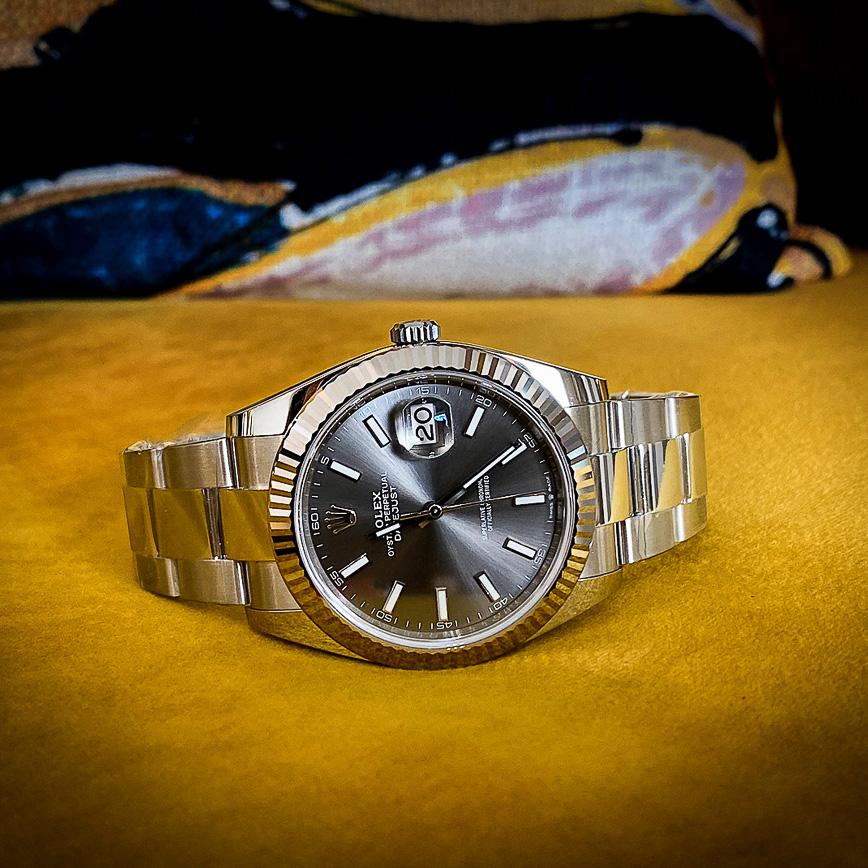 Rolex datejust 2 41mm cadran rhodium et bracelet Oyster ref 126334 - Bastia, Paris