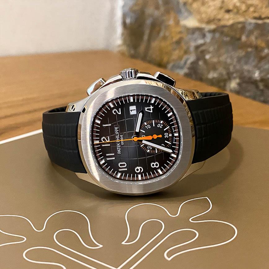 Montre homme Patek Philippe Aquanaut Chronographe ref.5968A-001 - Corse, Paris