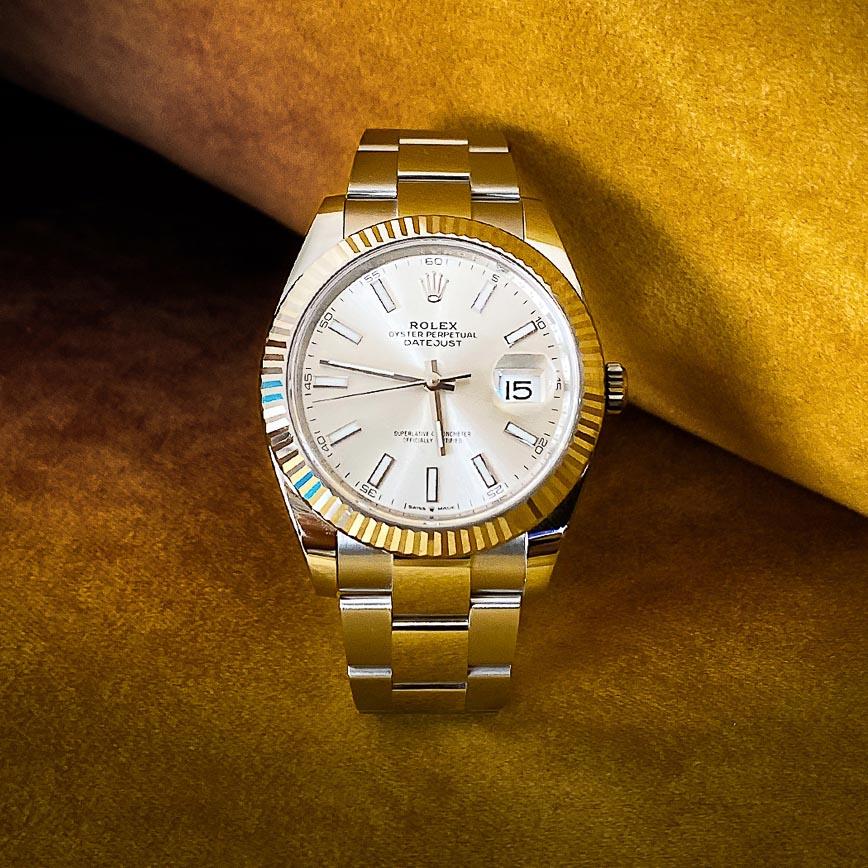 Montre homme Rolex Datejust 2 41mm cadran silver ref.126334 - Corse, Paris