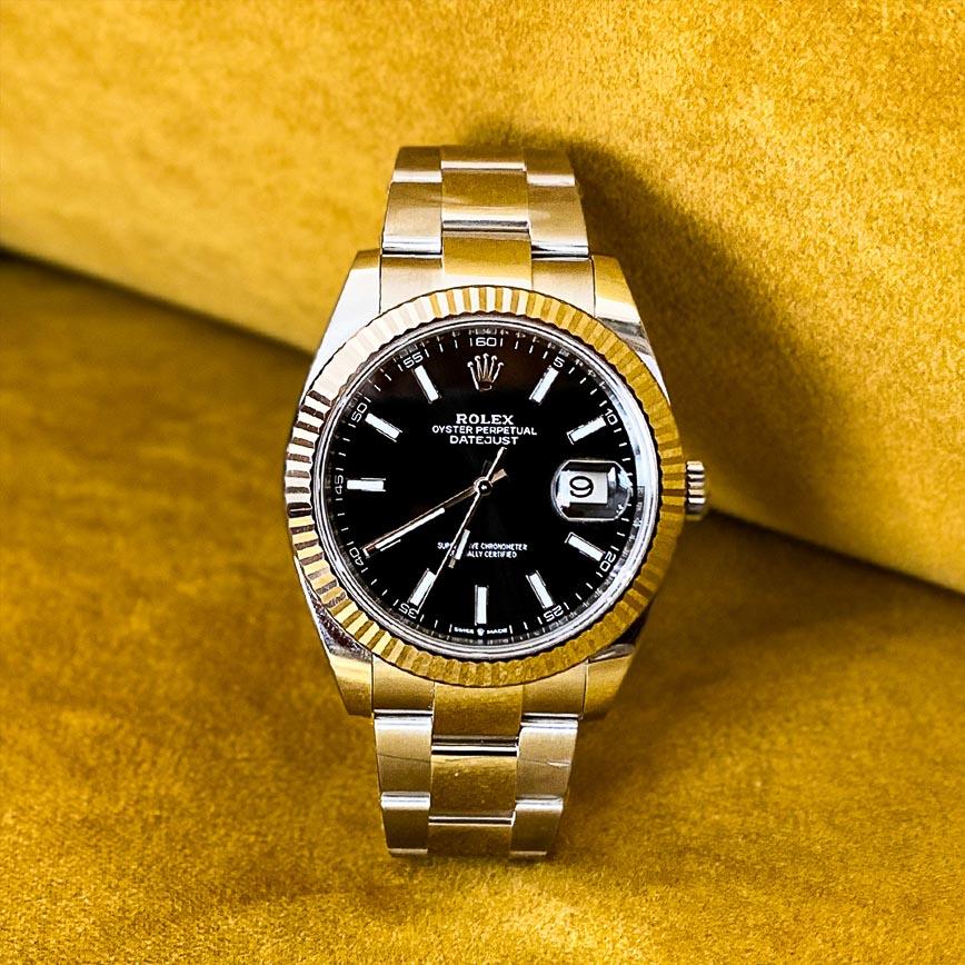 Montre homme Rolex Datejust 2 cadran noir ref.126334 - Corse, Paris