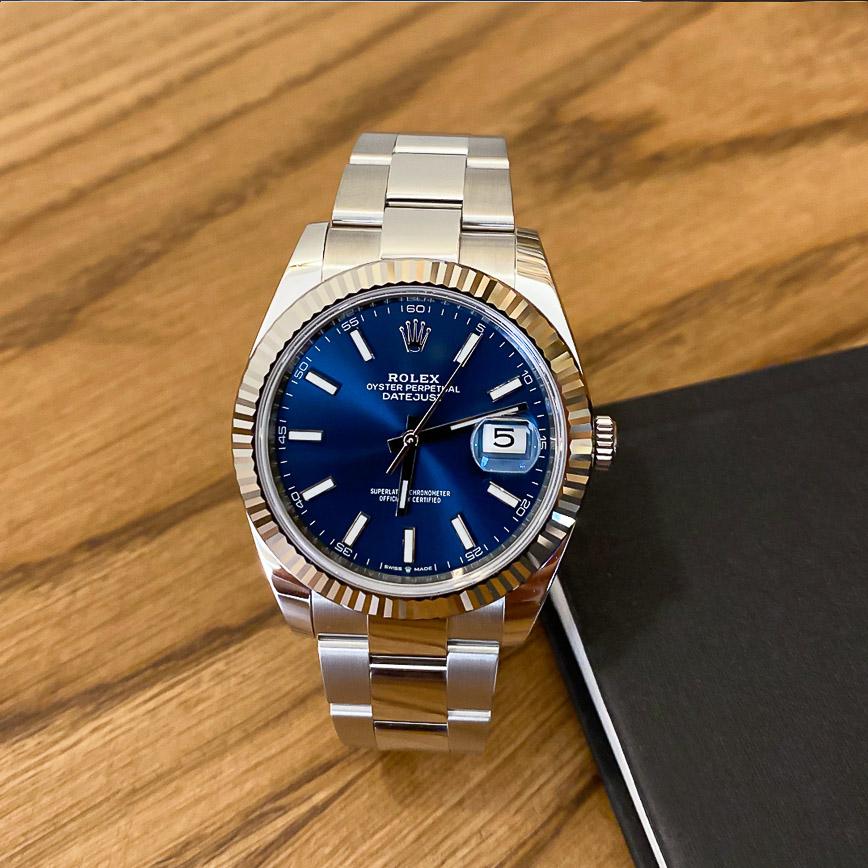 Montre homme Rolex Datejust 2 ref.126334 cadran bleu - Corse, Paris