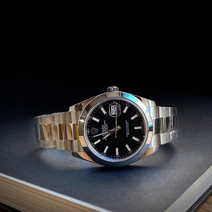 Montre homme Rolex Datejust 2 ref.126300 cadran noir - Corse, Paris
