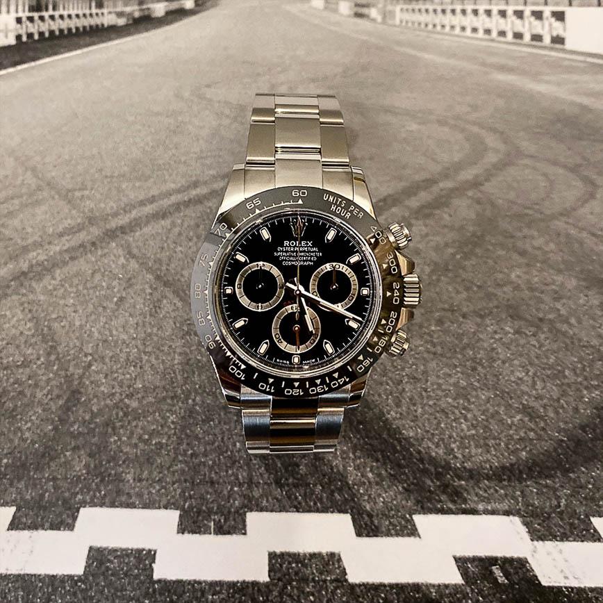 Montre homme Rolex Daytona ref.116500LN cadran noir - Corse, Paris